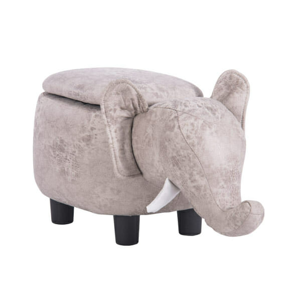 Детска табуретка във формата на слонче