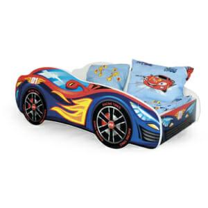 Детско легло като състезателна кола