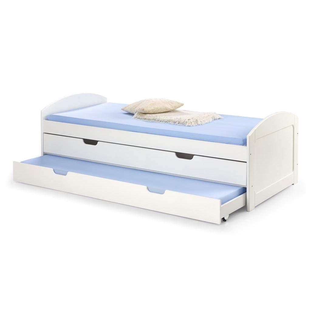 Детско легло с издърпващ се матрак и чекмедже Лоли