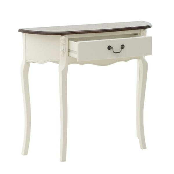 Конзолна маса в класически стил с чекмедже
