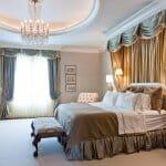 Класическа луксозна спалня