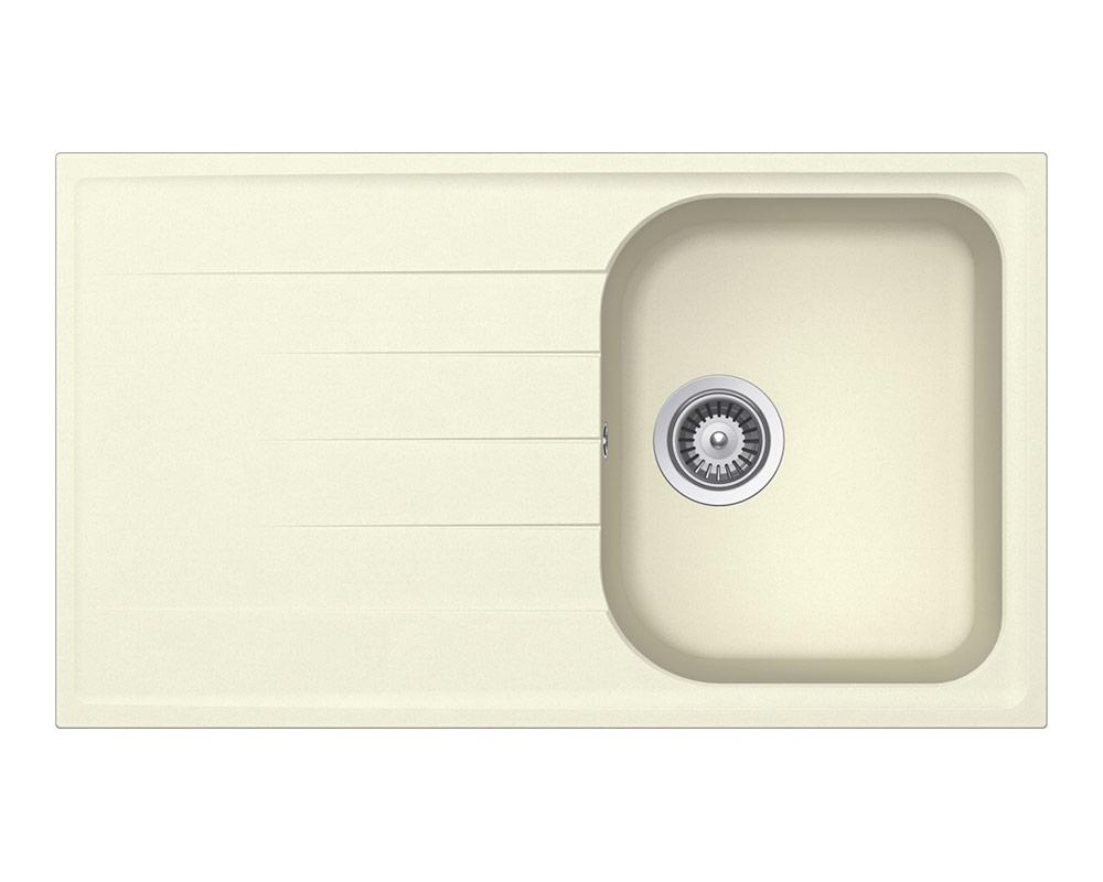 Мивка за кухня SCHOCK Viola D100 - цвят Crema