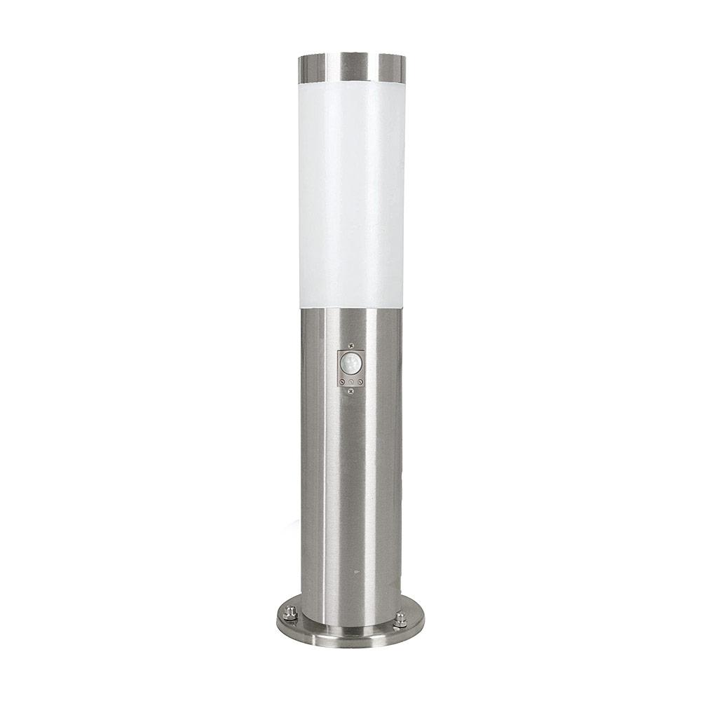 Модерна ниска градинска лампа със сензор серия Helsinki