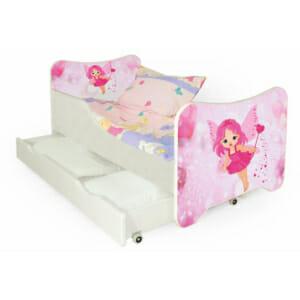 Розово детско легло за момиченце Фея