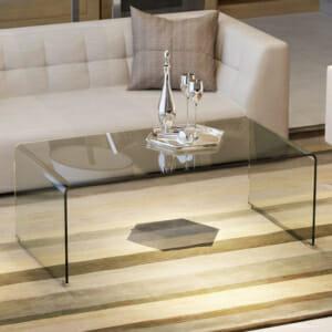 Стъклена холна маса