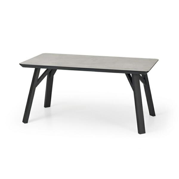 Тъмна трапезна маса с правоъгълна форма Хит
