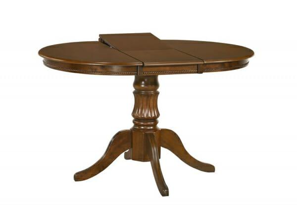 Класическа разтегателна маса от дърво Фил-тъмен орех