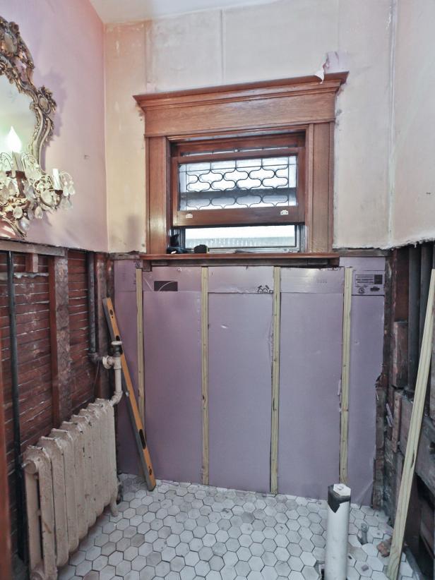 Баня 16 преди ремонт