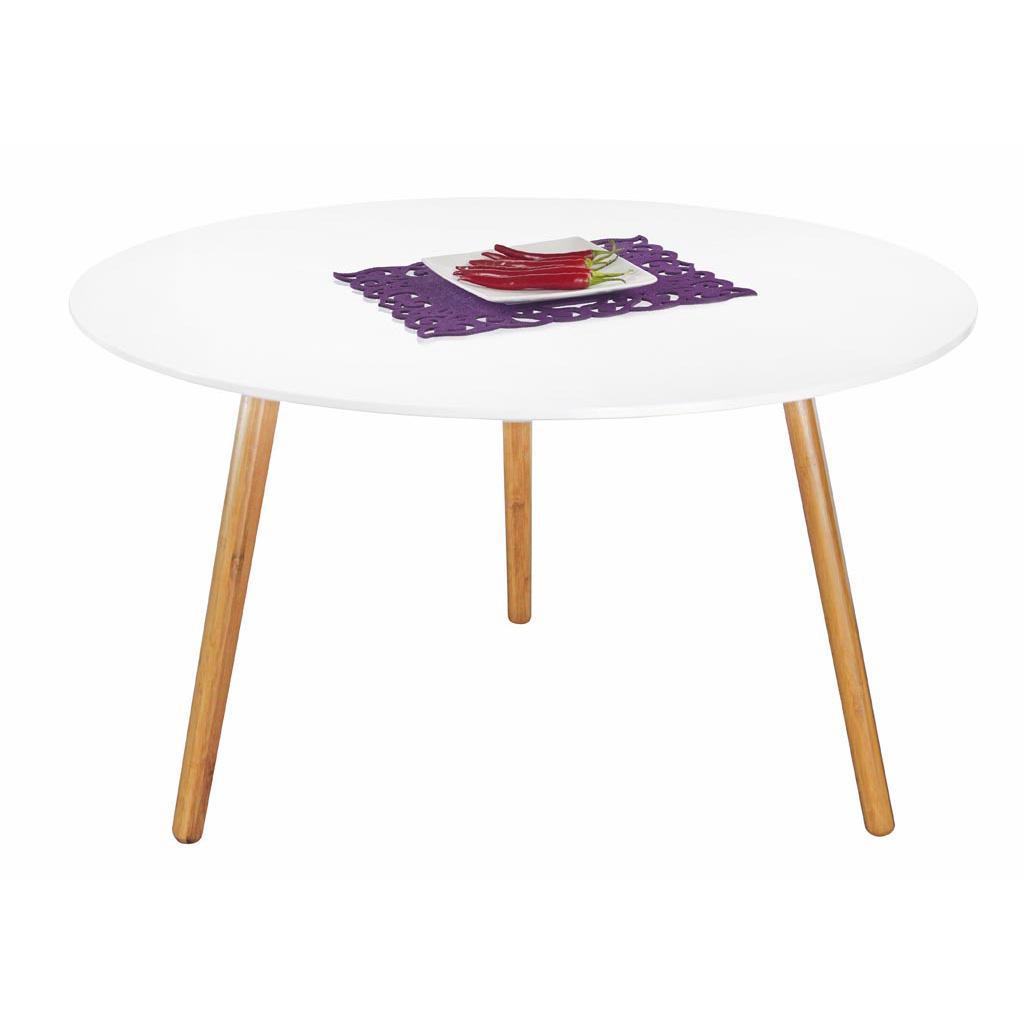 Помощна маса с дървени крака