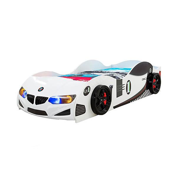 Детско легло във формата на състезателна кола