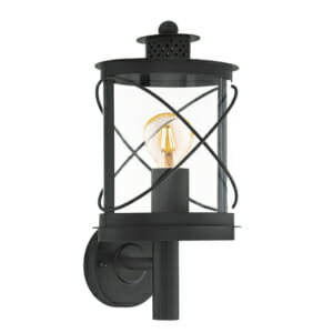 Метален фасаден аплик тип фенер серия Hilburn - Вариант 1