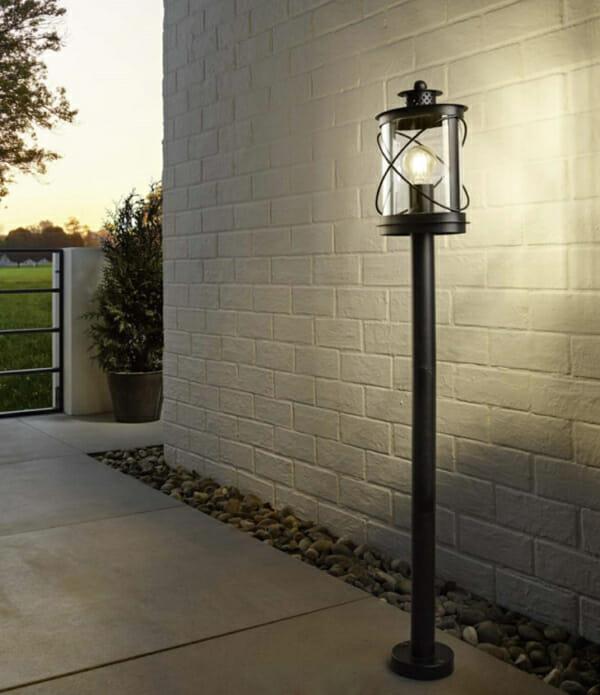 Подово осветително тяло за двор серия Hilburn - монтирано