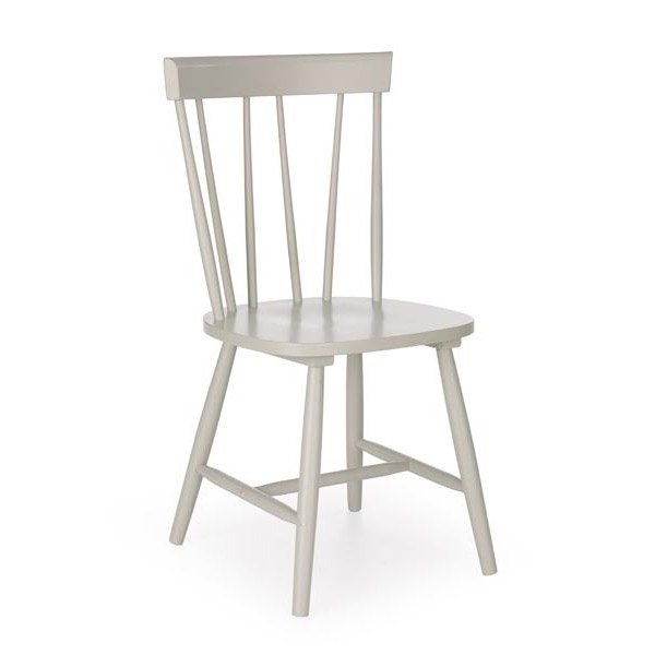 Сив трапезен стол Чарли
