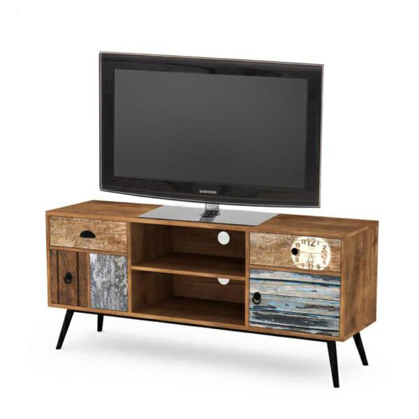 Дървен ТВ шкаф серия Max
