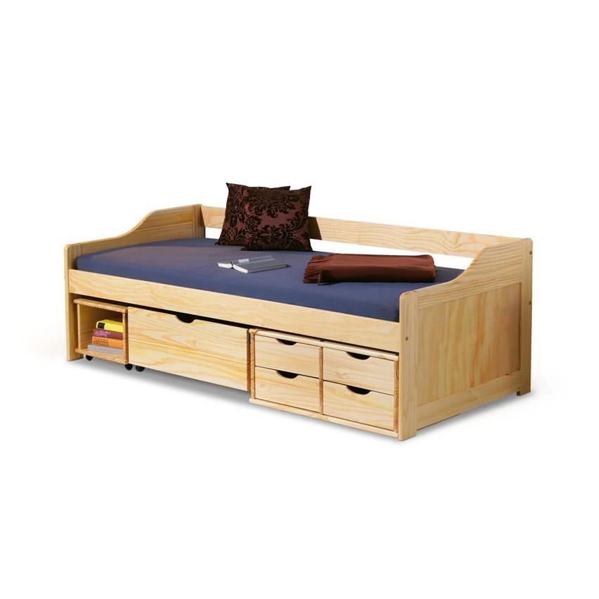 Тийнейджърско легло с много чекмеджета и място за съхранение