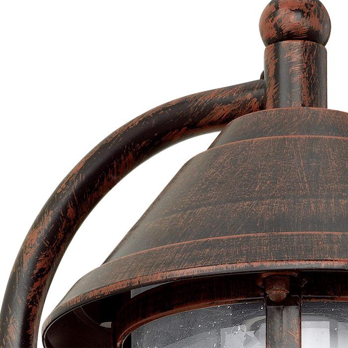 Фасаден аплик с форма на фенер серия San Telmo-снимка отблизо