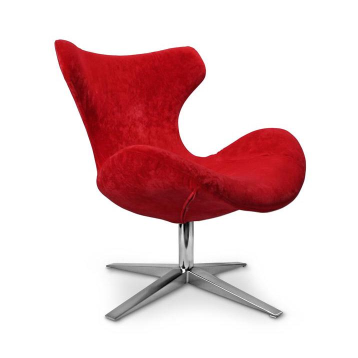 Червен стол за релакс Блейзър