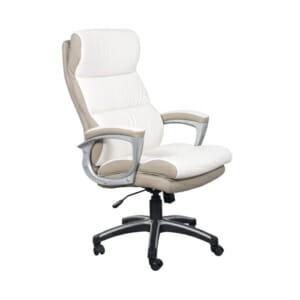 Елегантен директорски стол от еко кожа