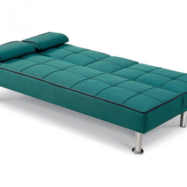Модерен троен диван със среден подлакътник и бар функция-положение легло
