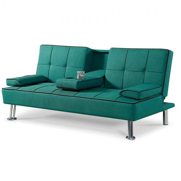 Модерен троен диван със среден подлакътник и бар функция