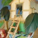 Детска стая като джунгла