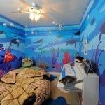 Детска стая морско дъно