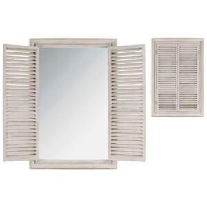 Огледало имитация на прозорец с капаци