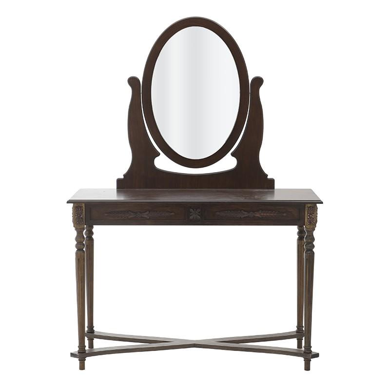 Тоалетка с огледало - отпред
