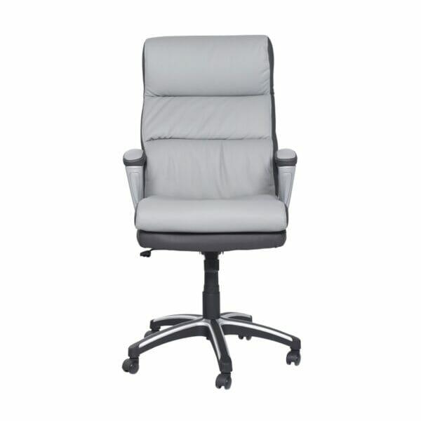 Елегантен директорски стол от еко кожа - отпред
