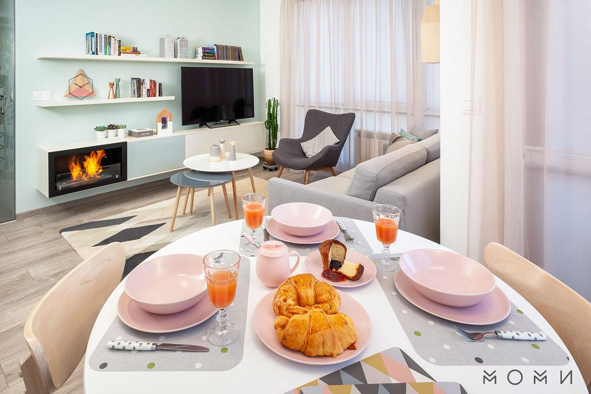 Апартамент Пастелно-трапезария-хол
