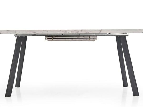 Разтегателна маса с плот имитиращ мрамор-странична снимка