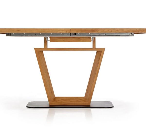 Разтегателна трапезна маса с нестандартен дизайн-механизъм