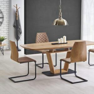 Разтегателна трапезна маса с нестандартен дизайн