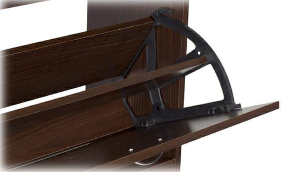 Дървено шкафче за обувки за коридор-механизъм