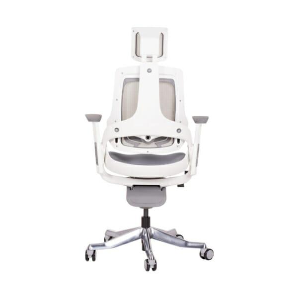 Ергономичен директорски стол с много функции-снимка отзад