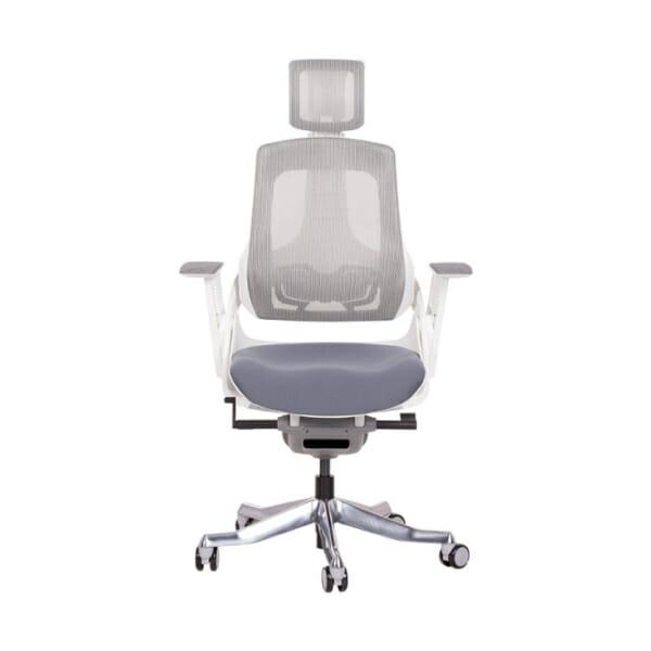 Ергономичен директорски стол с много функции-снимка отпред