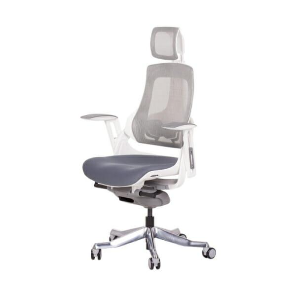 Ергономичен директорски стол с много функции-снимка отстрани
