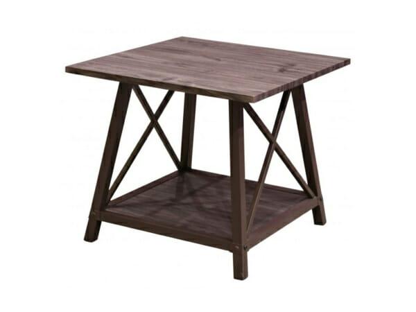 Квадратна холна маса в индустриален стил Джийн