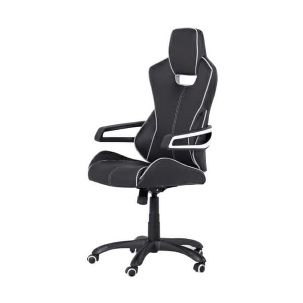 Стол във формата на автомобилна седалка-снимка отстрани