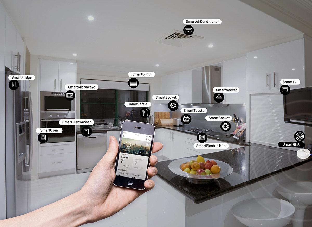 Тенденции в кухнята през 2018-умни електроуреди