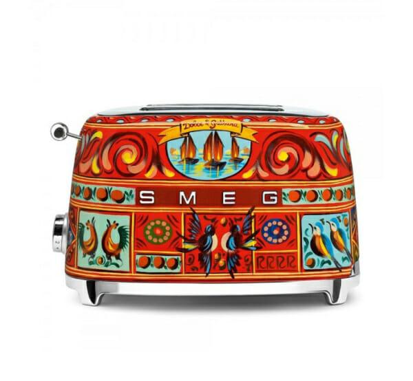Тостер с ретро дизайн SMEG Dolce & Gabbana