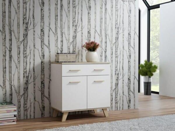 Шкаф в скандинавски стил