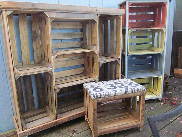 Мебели от щайги