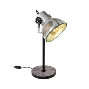 Настолна лампа в цвят състарен цинк серия Barnstaple