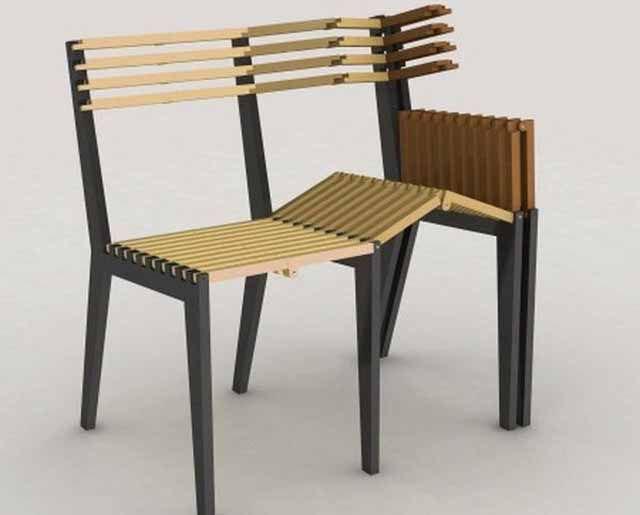 Сгъваеми мебели от дърво