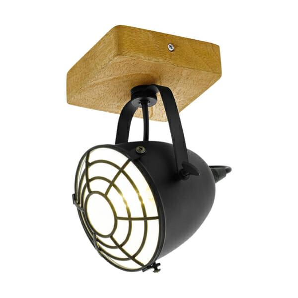 Спот осветление в индустриален стил серия Gatebeck - 1 тяло