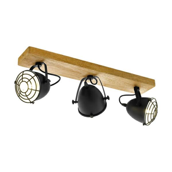 Спот осветление в индустриален стил серия Gatebeck - 3 тела
