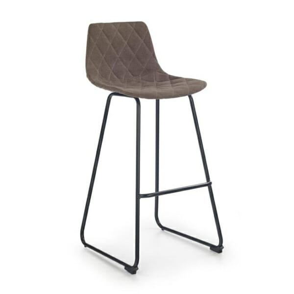 Бар стол с облегалка и нестандартни крака