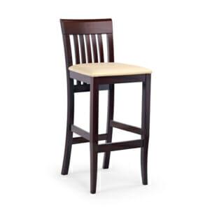 Дървен бар стол за домашен бар