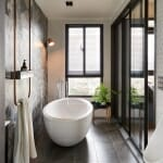 Модерна баня с вана